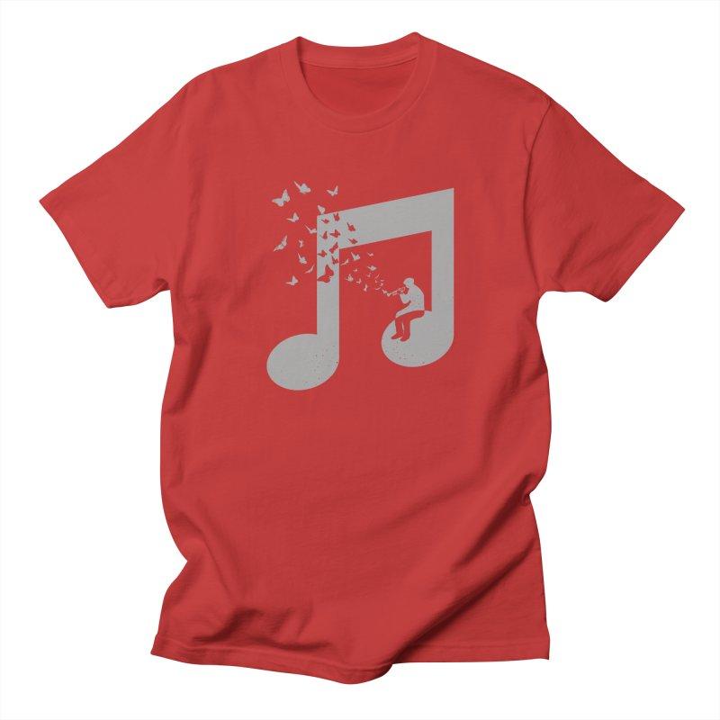 Bugle Music Women's Regular Unisex T-Shirt by barmalisiRTB