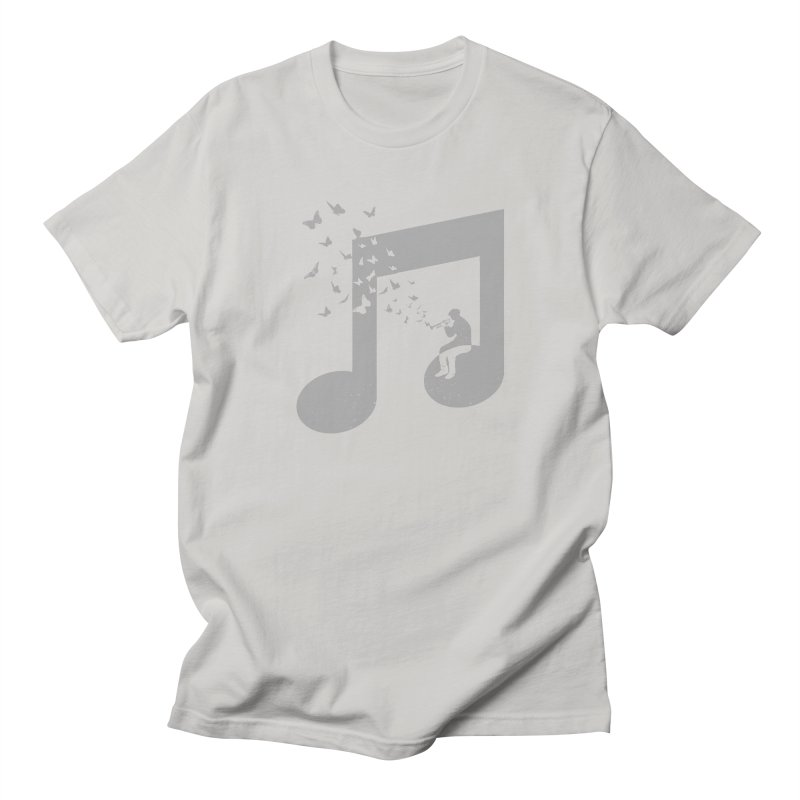 Bugle Music Men's Regular T-Shirt by barmalisiRTB