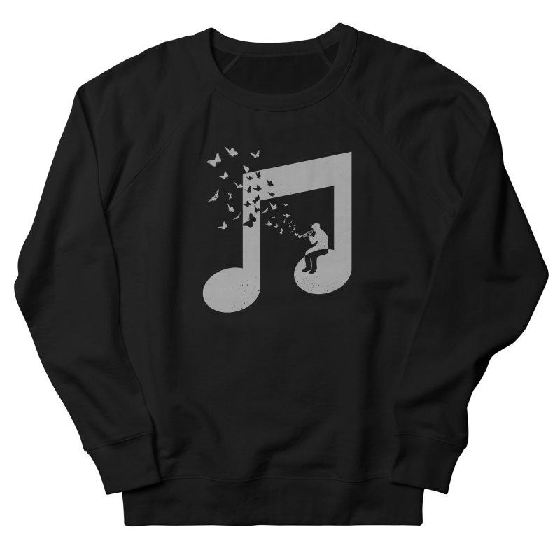 Bugle Music Women's French Terry Sweatshirt by barmalisiRTB