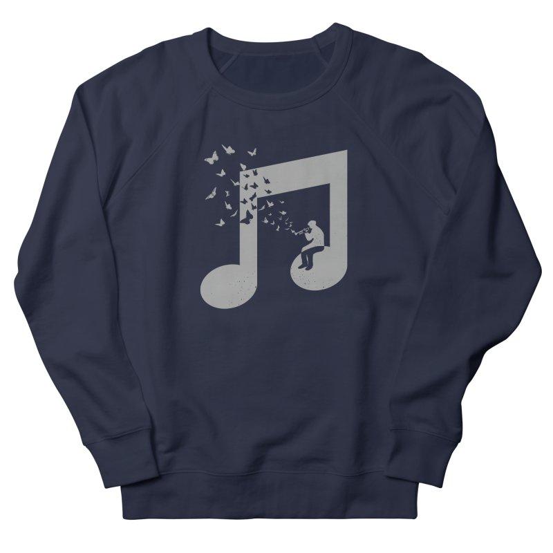 Bugle Music Men's French Terry Sweatshirt by barmalisiRTB
