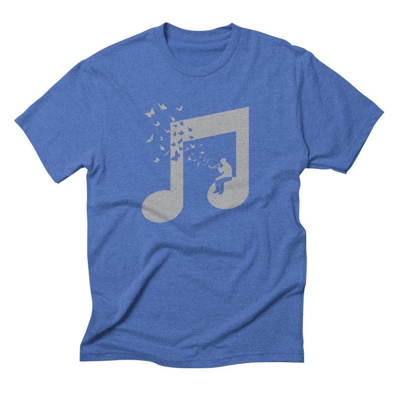 Bugle Music Men's Triblend T-Shirt by barmalisiRTB
