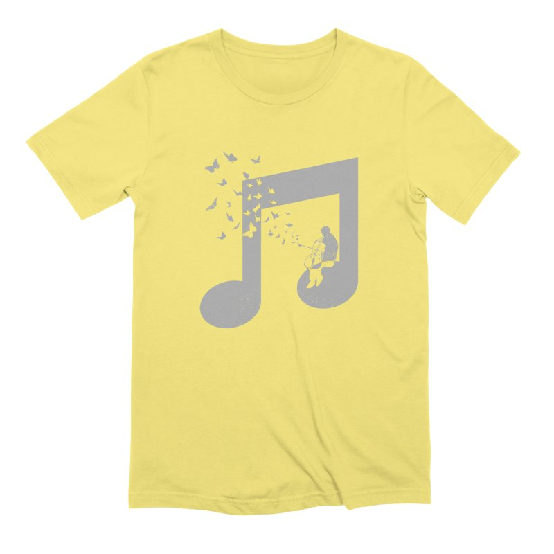 Cello Music Men's Extra Soft T-Shirt by barmalisiRTB
