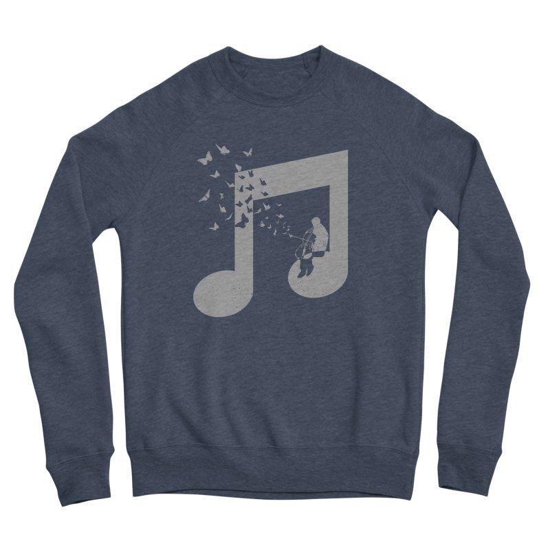 Cello Music Women's Sponge Fleece Sweatshirt by barmalisiRTB