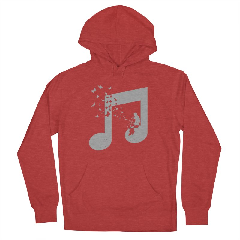 Cello Music Women's French Terry Pullover Hoody by barmalisiRTB