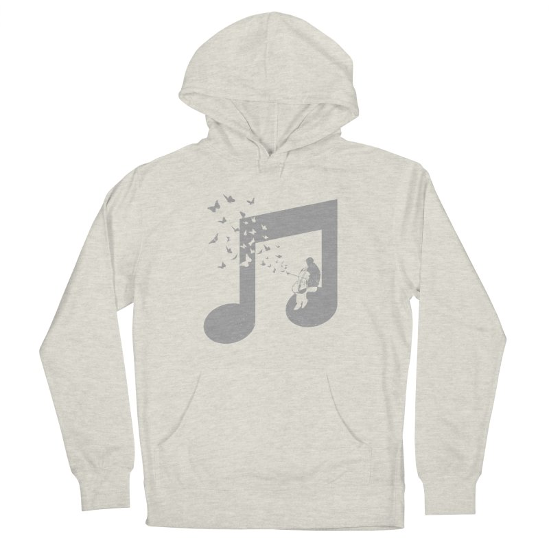 Cello Music Men's French Terry Pullover Hoody by barmalisiRTB