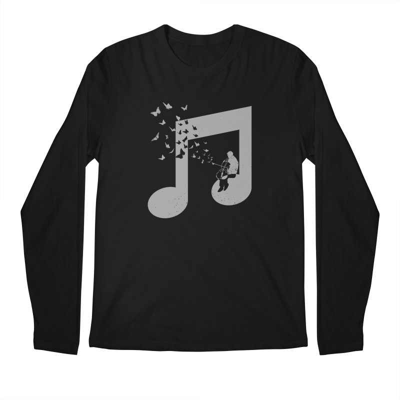 Cello Music Men's Regular Longsleeve T-Shirt by barmalisiRTB