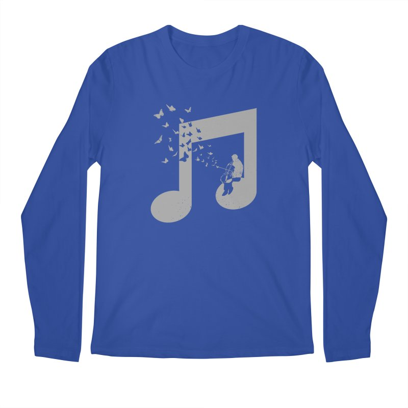 Cello Music Men's Regular Longsleeve T-Shirt by barmalisiRTB