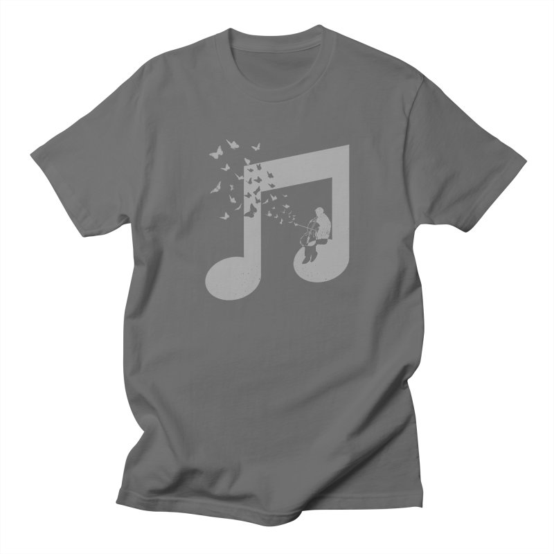 Cello Music Men's T-Shirt by barmalisiRTB