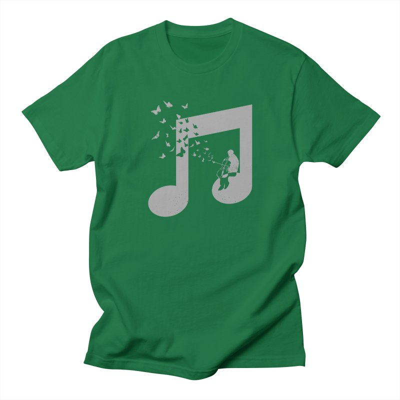 Cello Music Men's Regular T-Shirt by barmalisiRTB