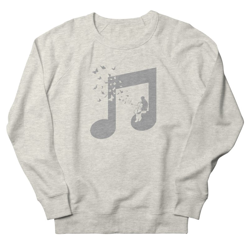 Cello Music Men's French Terry Sweatshirt by barmalisiRTB