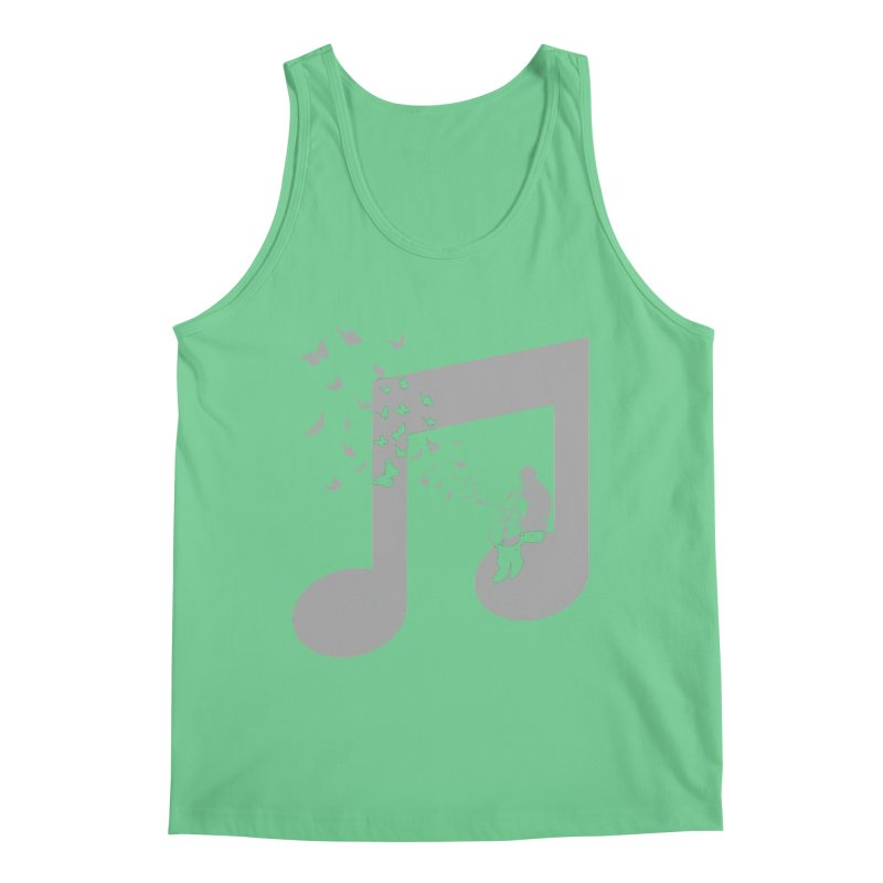 Cello Music Men's Regular Tank by barmalisiRTB
