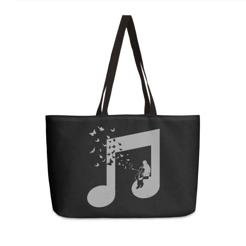 Cello Music Accessories Weekender Bag Bag by barmalisiRTB