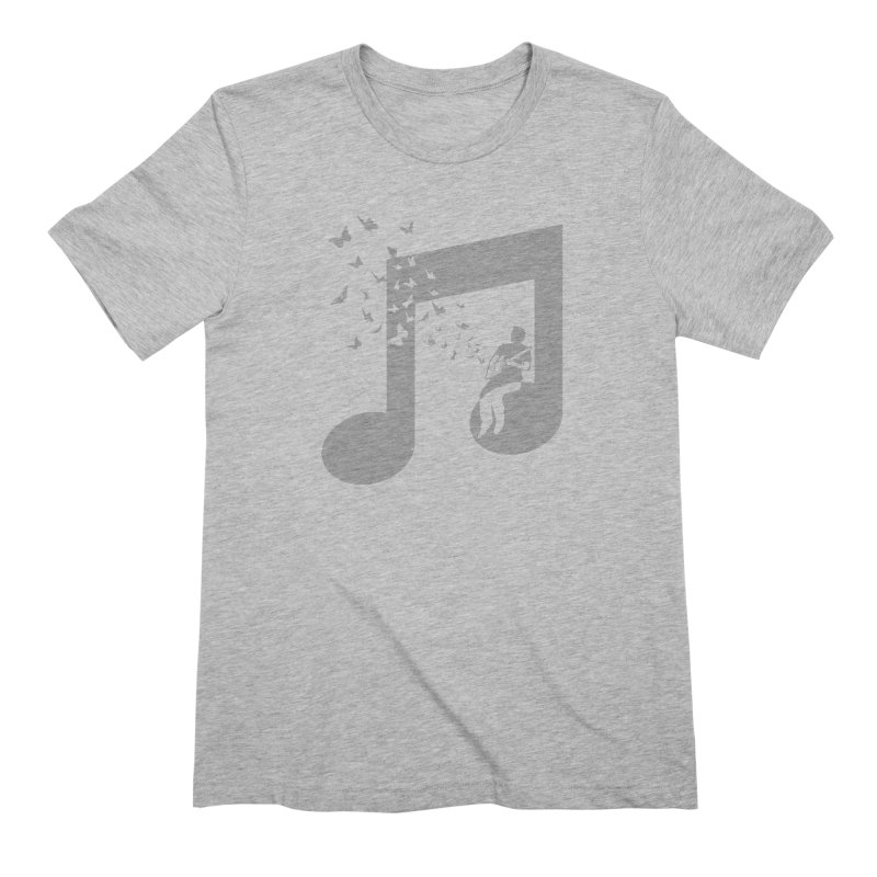 Cigar Box Guitar Music Men's Extra Soft T-Shirt by barmalisiRTB
