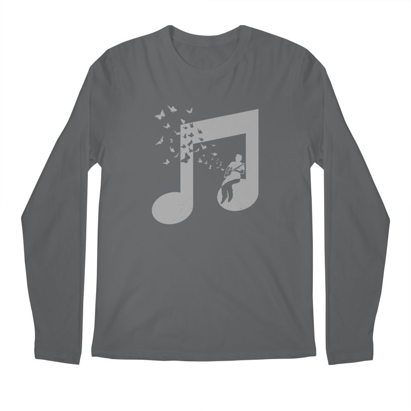 Cigar Box Guitar Music Men's Regular Longsleeve T-Shirt by barmalisiRTB