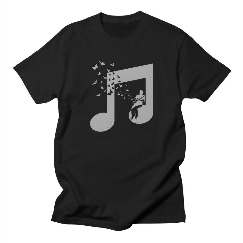 Cigar Box Guitar Music Men's Regular T-Shirt by barmalisiRTB