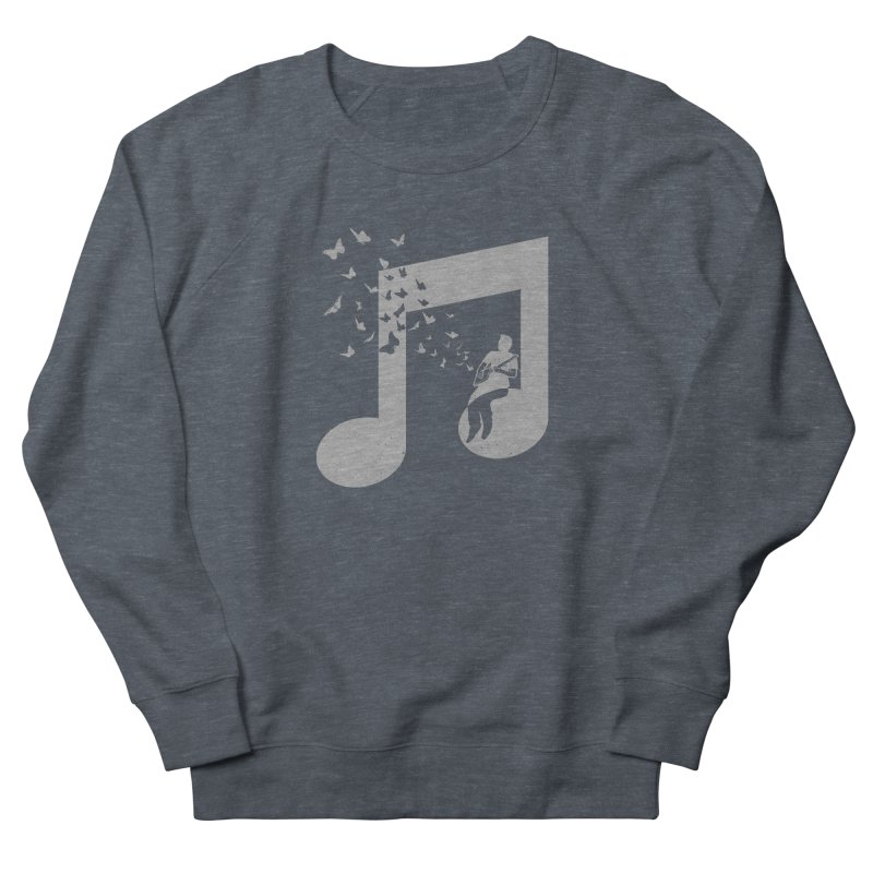 Cigar Box Guitar Music Women's French Terry Sweatshirt by barmalisiRTB