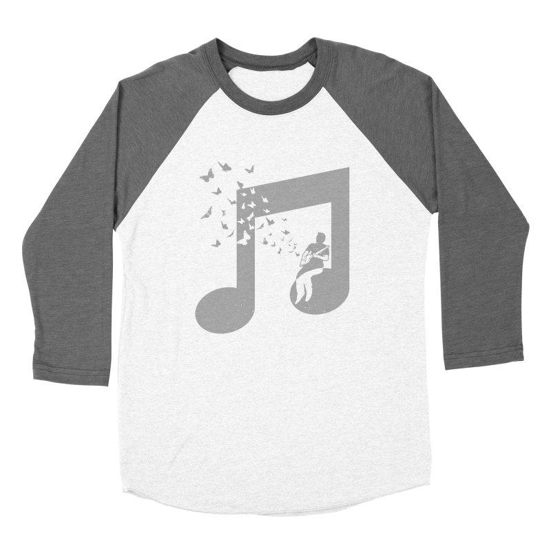 Cigar Box Guitar Music Women's Baseball Triblend Longsleeve T-Shirt by barmalisiRTB