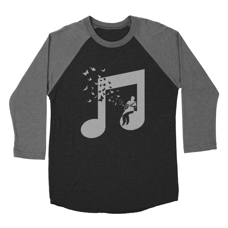 Cigar Box Guitar Music Men's Baseball Triblend Longsleeve T-Shirt by barmalisiRTB