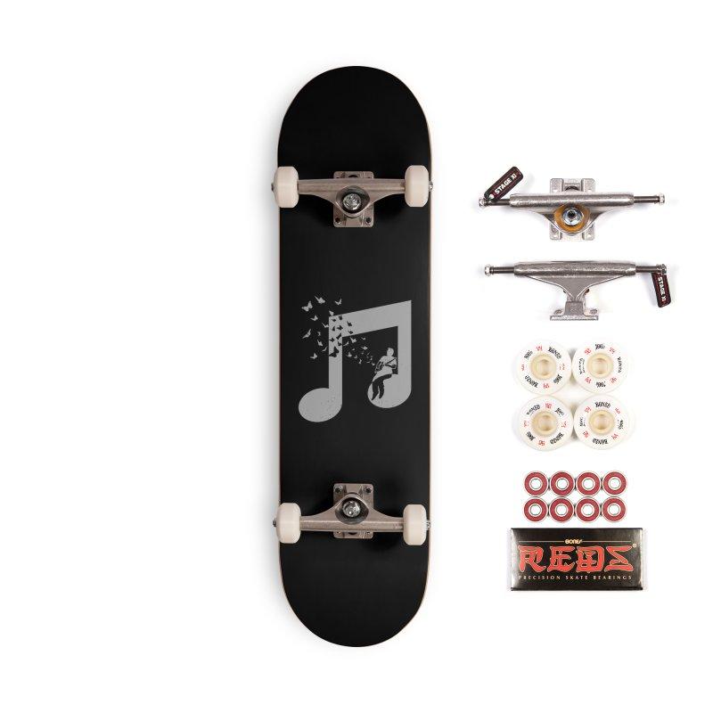 Cigar Box Guitar Music Accessories Complete - Pro Skateboard by barmalisiRTB