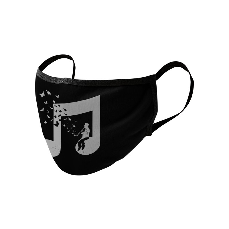 Clarinet Music Accessories Face Mask by barmalisiRTB