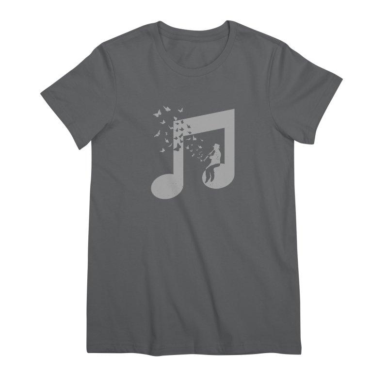 Clarinet Music Women's T-Shirt by barmalisiRTB