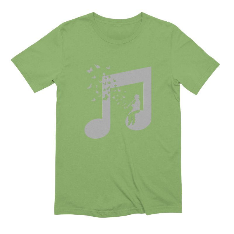 Clarinet Music Men's Extra Soft T-Shirt by barmalisiRTB