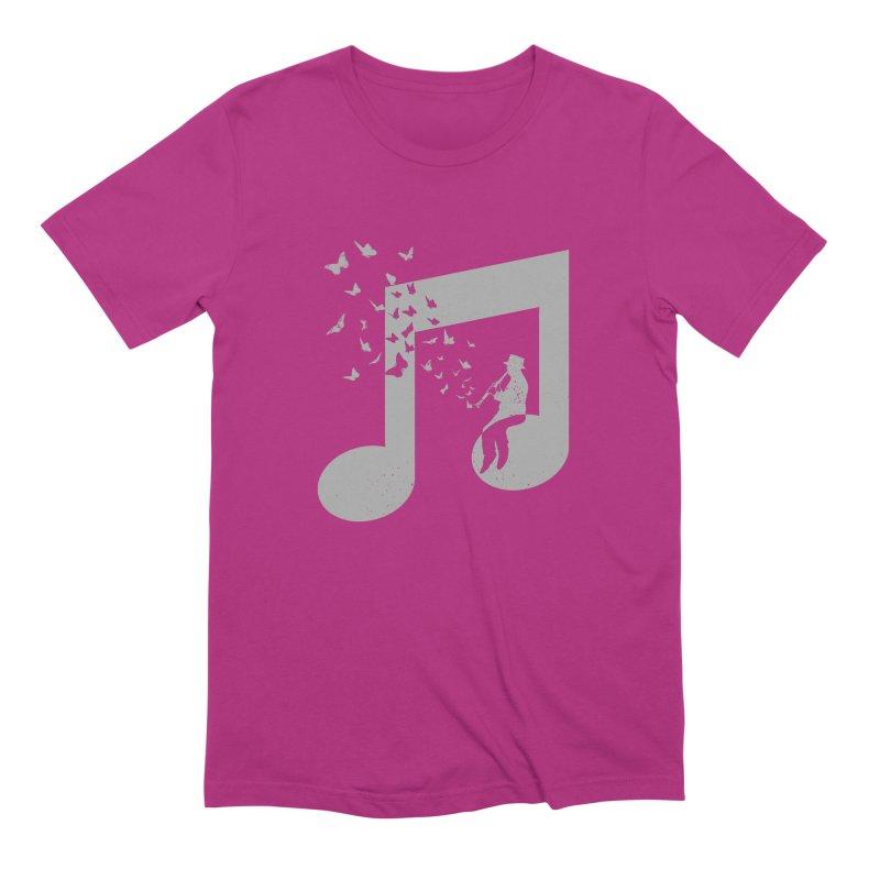 Clarinet Music Men's Extra Soft T-Shirt by barmalisiRTB
