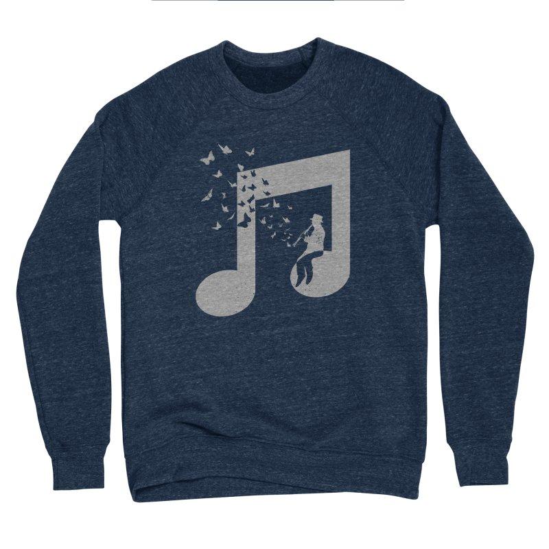 Clarinet Music Women's Sponge Fleece Sweatshirt by barmalisiRTB
