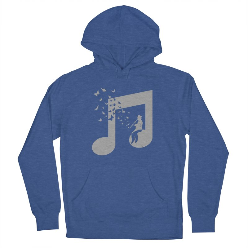 Clarinet Music Women's French Terry Pullover Hoody by barmalisiRTB