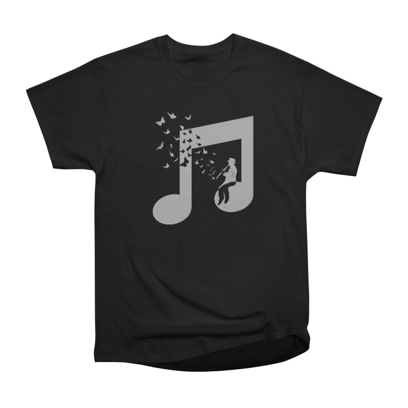 Clarinet Music Women's Heavyweight Unisex T-Shirt by barmalisiRTB