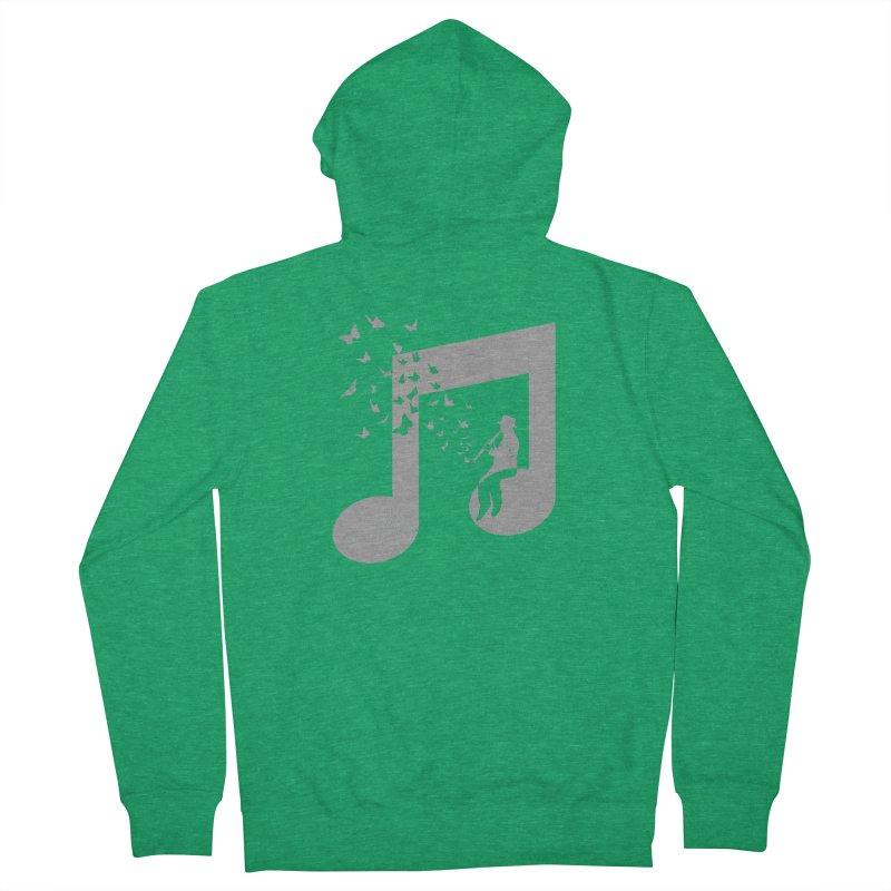 Clarinet Music Women's Zip-Up Hoody by barmalisiRTB