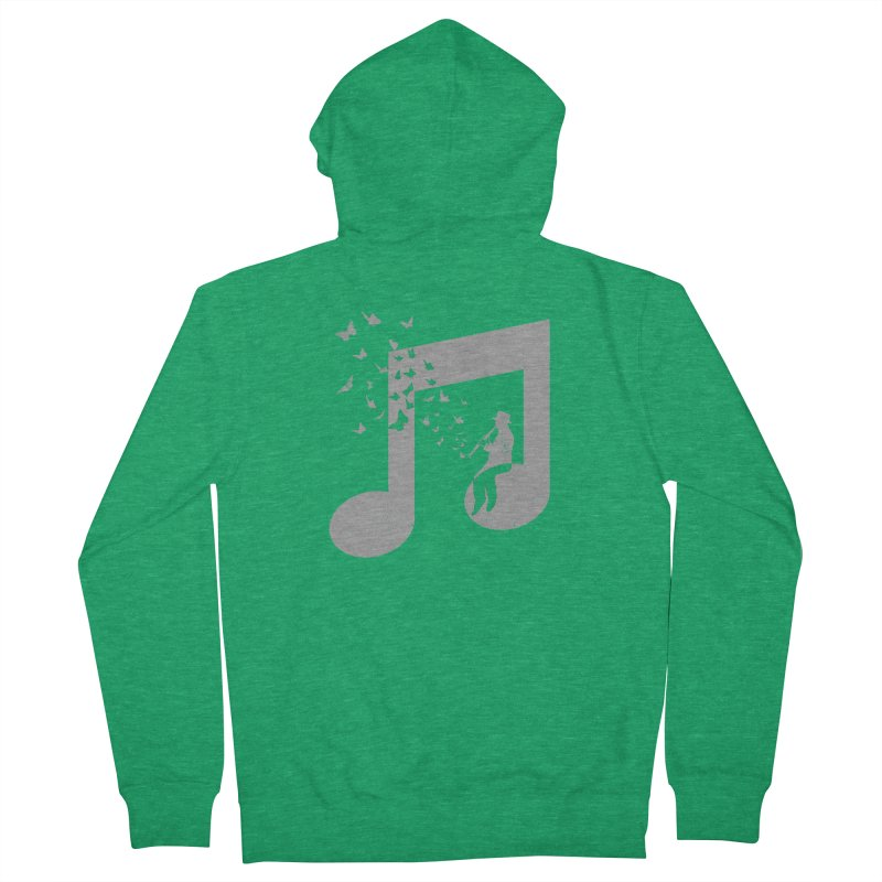 Clarinet Music Men's Zip-Up Hoody by barmalisiRTB