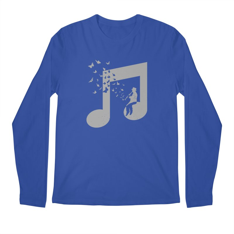 Clarinet Music Men's Regular Longsleeve T-Shirt by barmalisiRTB