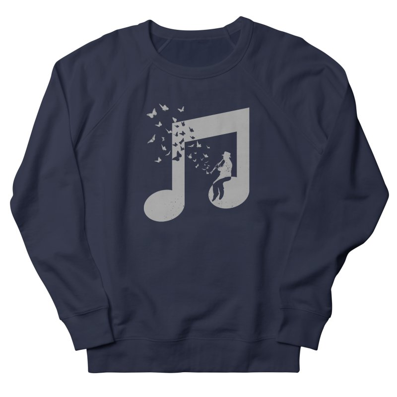 Clarinet Music Women's French Terry Sweatshirt by barmalisiRTB