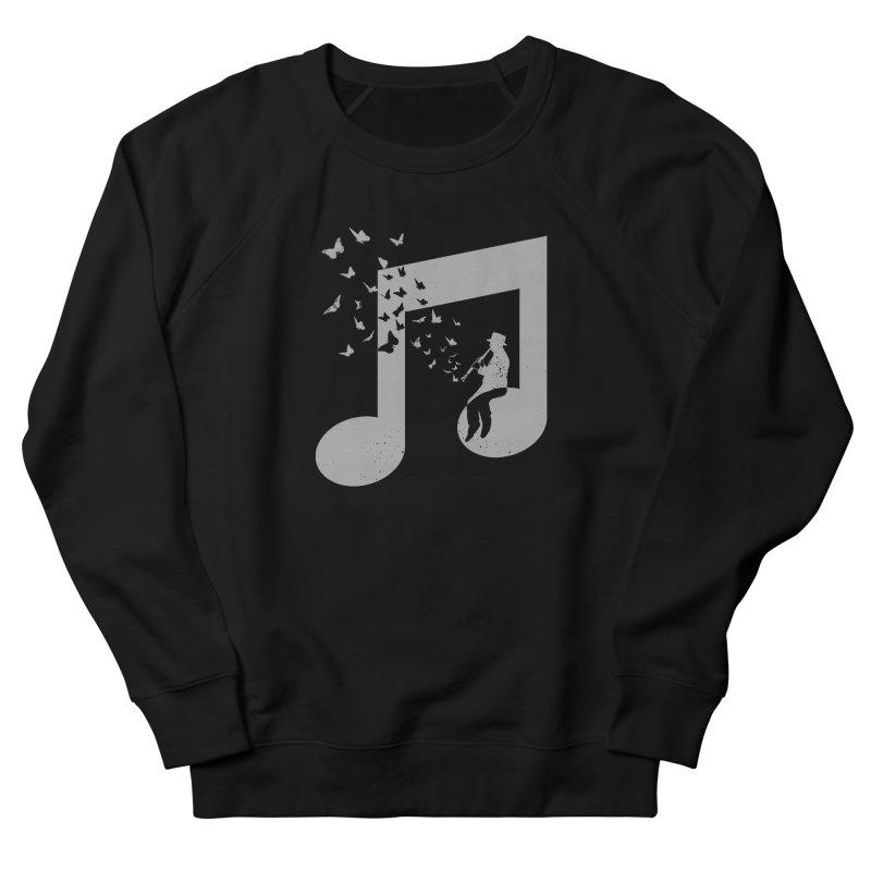 Clarinet Music Men's French Terry Sweatshirt by barmalisiRTB