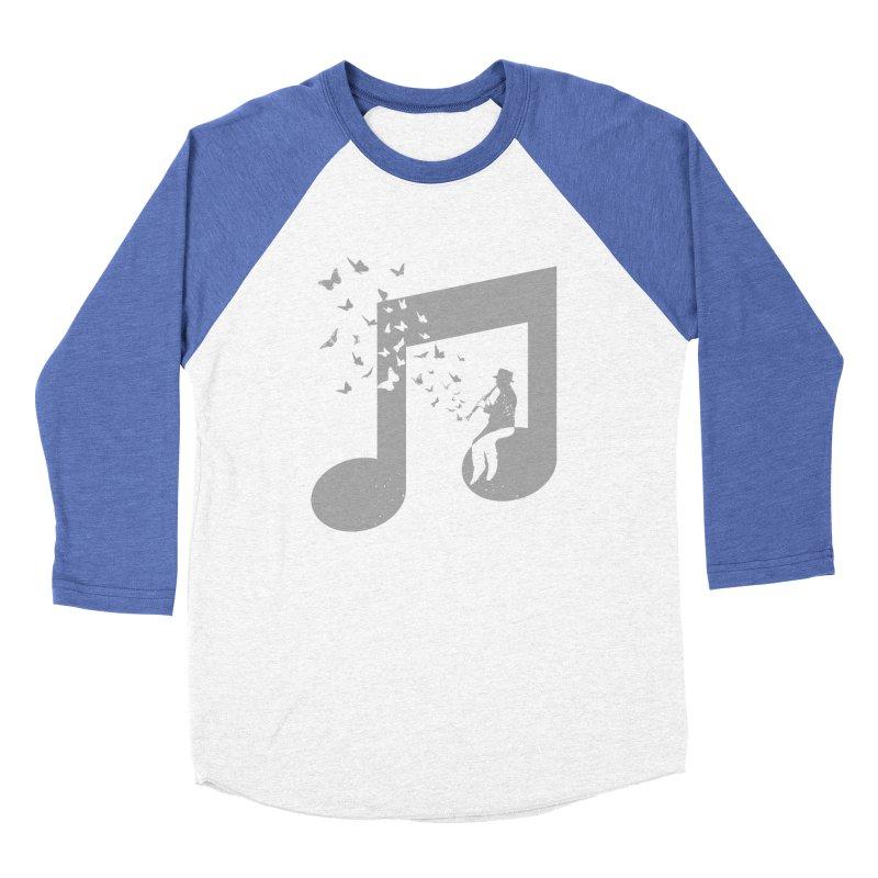 Clarinet Music Women's Baseball Triblend Longsleeve T-Shirt by barmalisiRTB