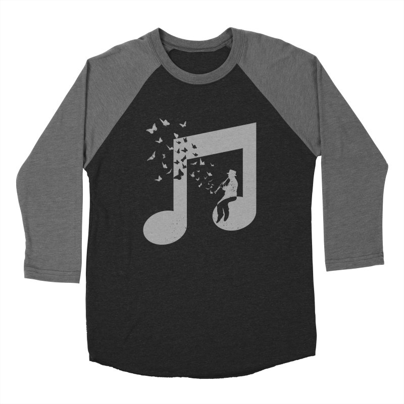 Clarinet Music Men's Baseball Triblend Longsleeve T-Shirt by barmalisiRTB