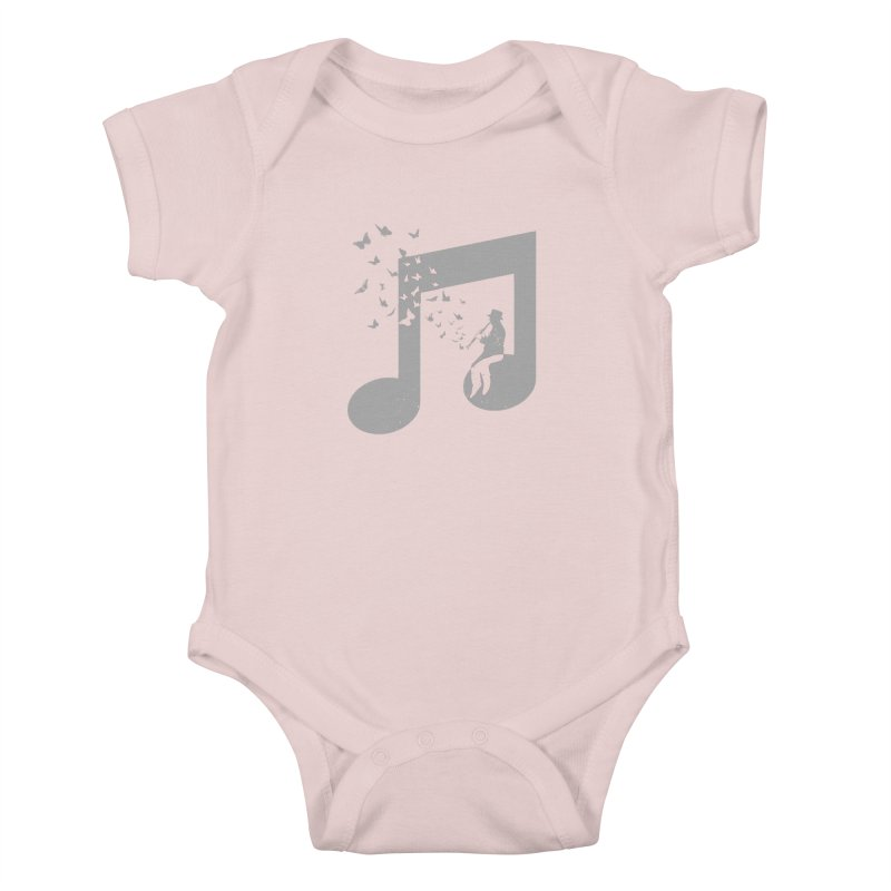 Clarinet Music Kids Baby Bodysuit by barmalisiRTB