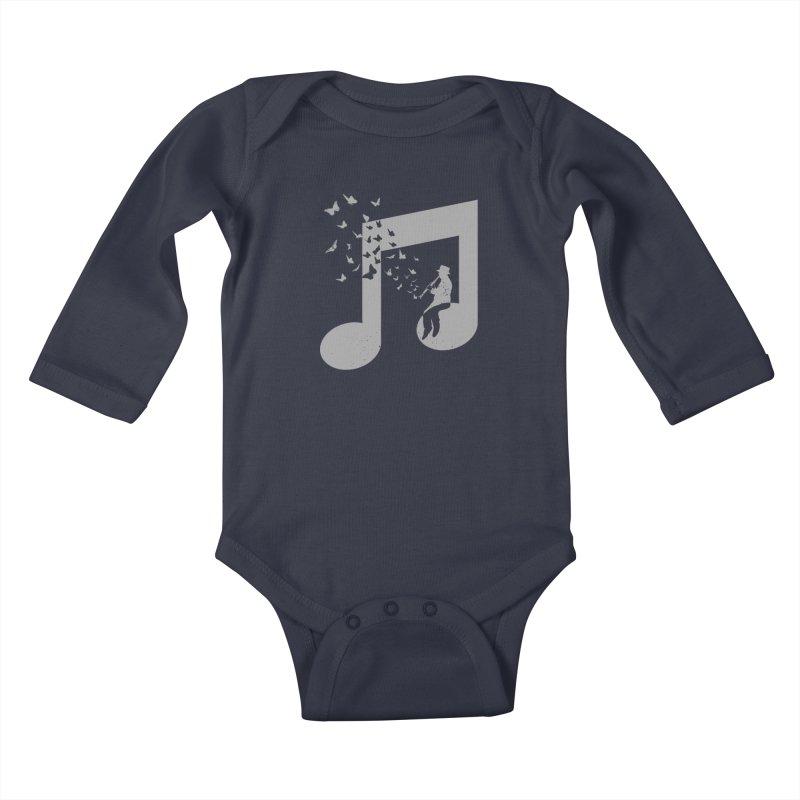 Clarinet Music Kids Baby Longsleeve Bodysuit by barmalisiRTB