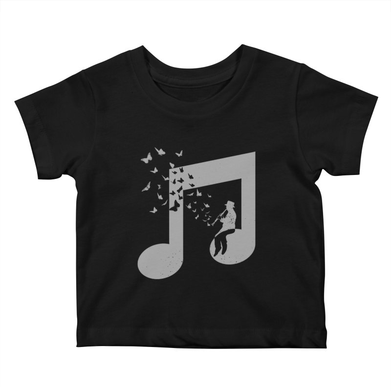 Clarinet Music Kids Baby T-Shirt by barmalisiRTB