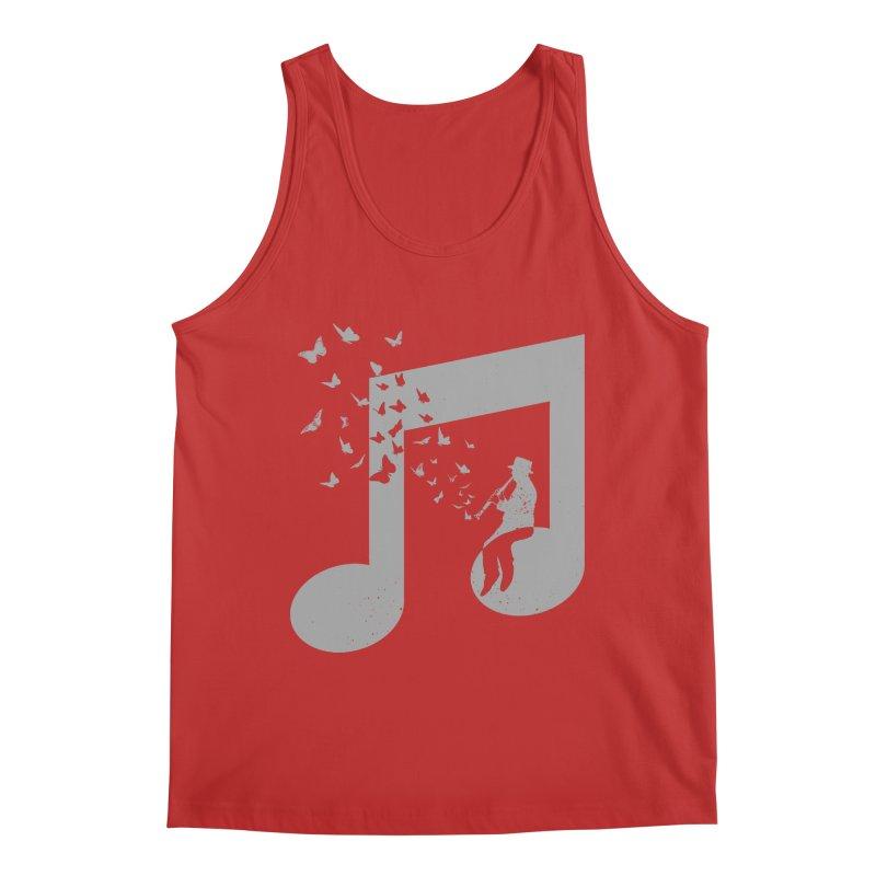 Clarinet Music Men's Regular Tank by barmalisiRTB