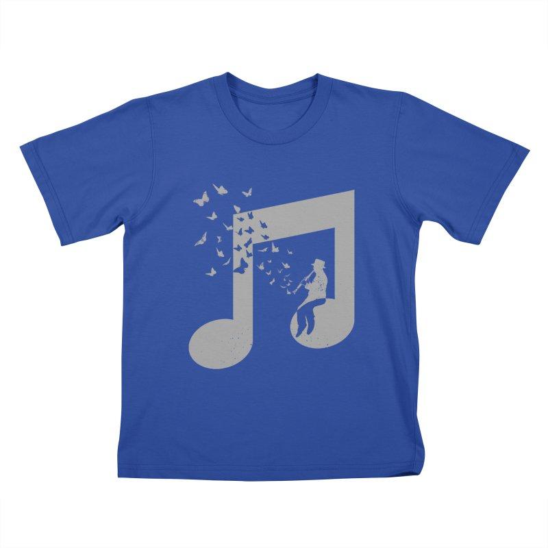 Clarinet Music Kids T-Shirt by barmalisiRTB