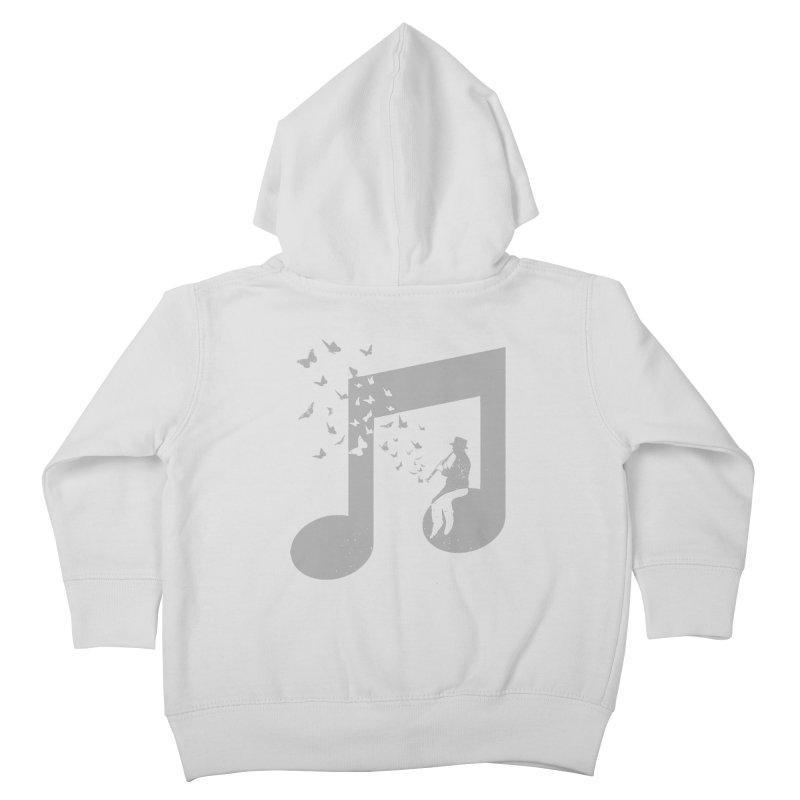 Clarinet Music Kids Toddler Zip-Up Hoody by barmalisiRTB