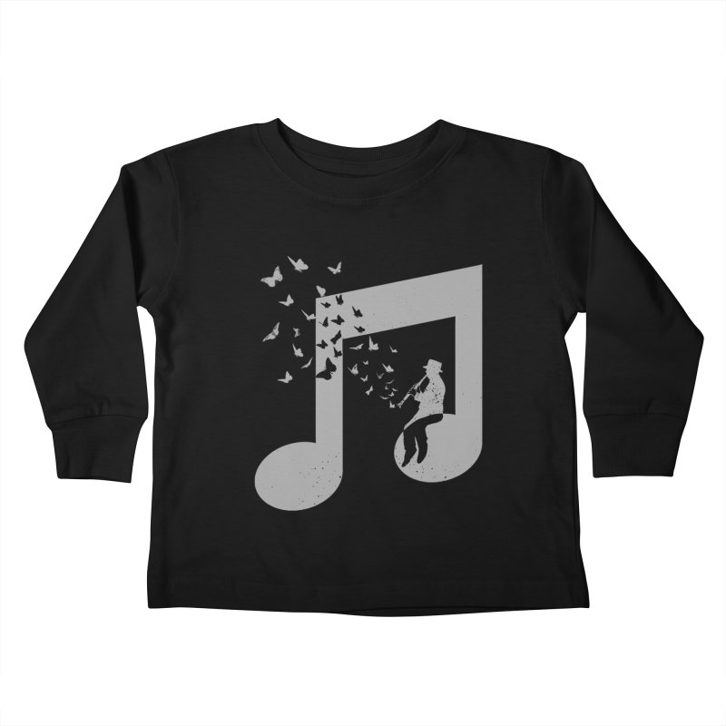 Clarinet Music Kids Toddler Longsleeve T-Shirt by barmalisiRTB