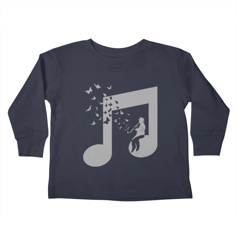 Clarinet Music Kids Toddler Longsleeve T-Shirt by barmalisiRTB