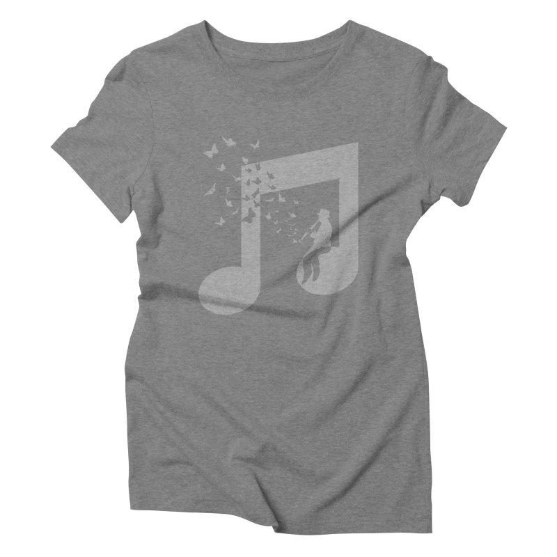 Clarinet Music Women's Triblend T-Shirt by barmalisiRTB