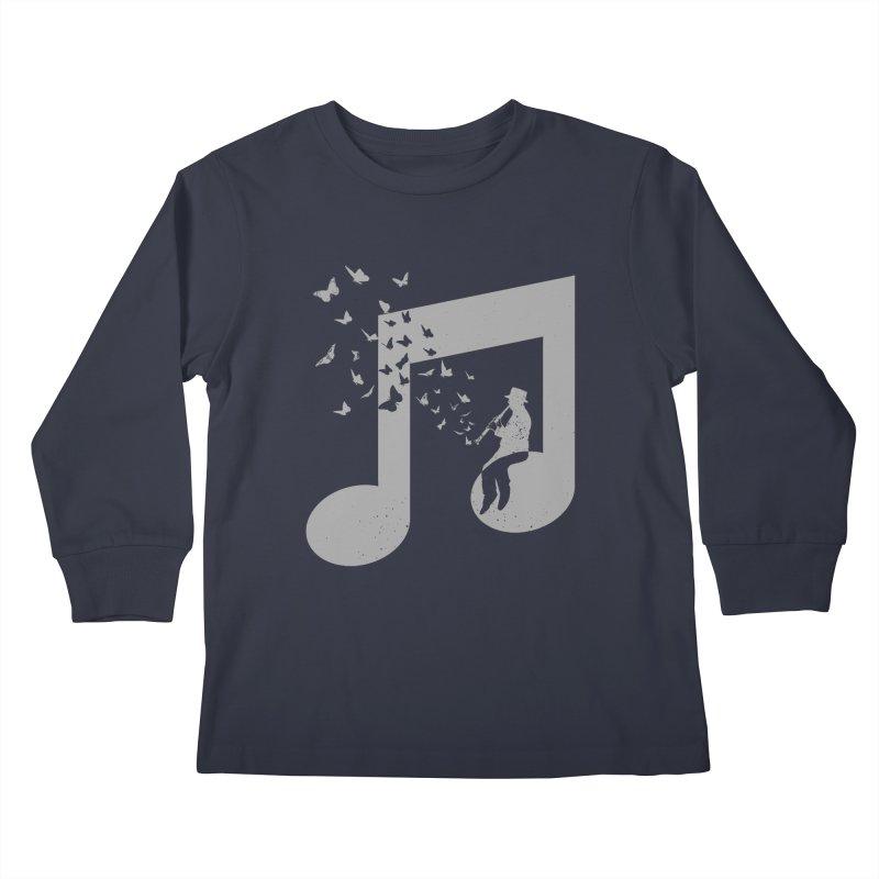 Clarinet Music Kids Longsleeve T-Shirt by barmalisiRTB