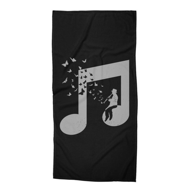 Clarinet Music Accessories Beach Towel by barmalisiRTB