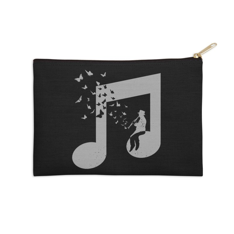Clarinet Music Accessories Zip Pouch by barmalisiRTB
