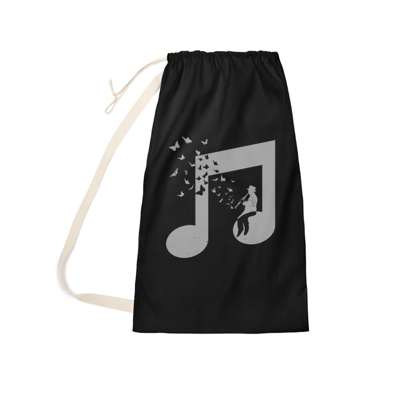 Clarinet Music Accessories Laundry Bag Bag by barmalisiRTB